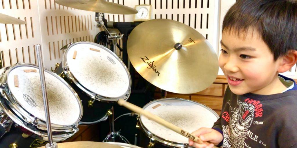小学生が安心して学べるキッズドラム教室