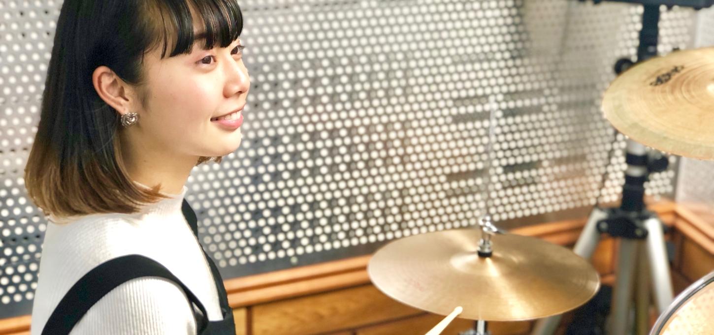 女性でも安心のドラム教室